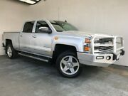 2014 Chevrolet Silverado 2500 HD Silver Mount Gambier Grant Area Preview