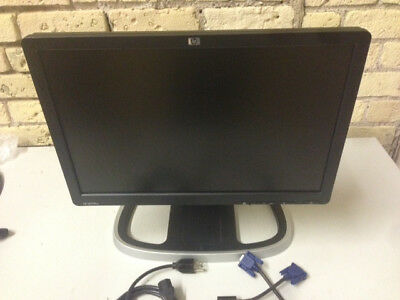 "HP LE1901W 19"" WIDE SCREEN LCD COMPUTER MONITOR VGA WITH UPGRADED STAND"