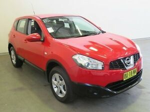 2012 Nissan Dualis J10 Series 3 ST (4x2) Red 6 Speed CVT Auto Sequential Wagon Westdale Tamworth City Preview