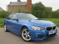 2015 65 BMW 3 SERIES 2.0 320D M SPORT 4D AUTO 188 BHP DIESEL