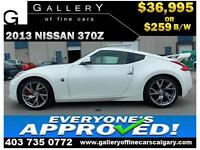 2013 Nissan 370Z $259 bi-weekly APPLY NOW DRIVE NOW