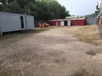 Yard and Workshop Available