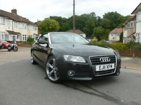 Ready for the Summer! Audi A5 Cabriolet 2011