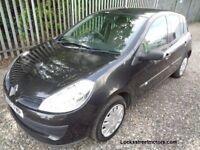 RENAULT CLIO 1.5 DIESEL 5 DOOR BLACK 81,969 MILES MOT 20/03/18 EXCELLENT CONDITION *£30 road tax **