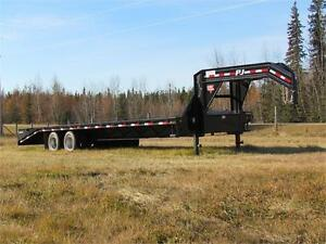 Big Savings -$1375- New 32 ft PJ Gooseneck, 2(12,000 lb) axles