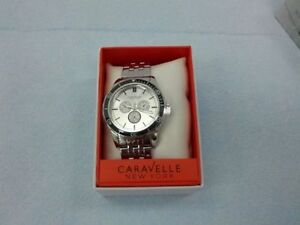 MEN'S CHRONOGRAPH BY CARAVELLE NEW YORK