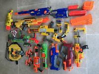 HUGE NERF GUN COLLECTION - 14 NERF GUNS - BARGAIN!