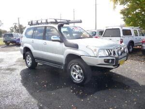 2008 Toyota Land Cruiser PRADO GXL (4x4) 4.0 V6 Auto 8 Seat 4WD Wagon/SUV Orange Orange Area Preview