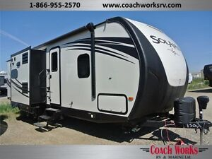 WOW! $150 b/w Great Bunk Trailer, Two Slides Deluxe Model