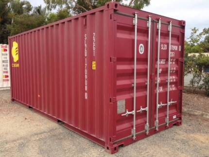 20ft shipping containers in Qld Maroon