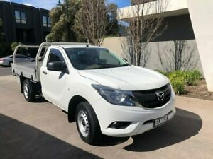 2015 Mazda BT-50 UR0YD1 XT 4x2 White 6 Speed Manual Cab Chassis Maidstone Maribyrnong Area Preview