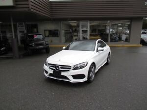 2016 Mercedes-Benz C-Class C300 4MATIC WITH COLLISION PREVENTION