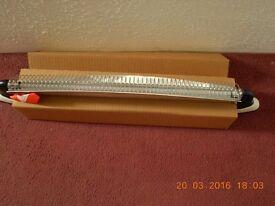 New 750 watt infra red wall heater
