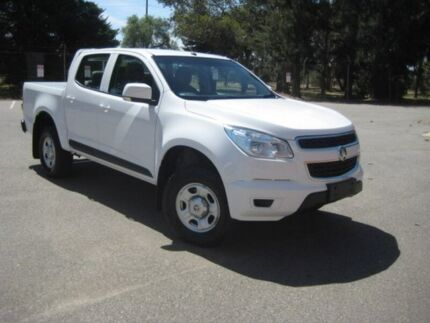 2015 Holden Colorado RG MY16 LS Crew Cab White 6 Speed Sports Automatic Utility Elizabeth Playford Area Preview