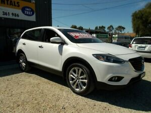 2012 Mazda CX-9 TB10A5 Grand Touring Activematic AWD White 6 Speed Sports Automatic Wagon Bayswater North Maroondah Area Preview