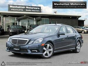2010 MERCEDES BENZ E350 4MATIC |PANO|P.SHIFT|PHONE|NO ACCIDENT