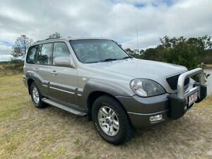2006 Hyundai Terracan 05 Upgrade 4 Speed Automatic Wagon Applethorpe Southern Downs Preview