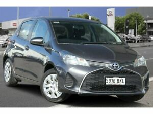 2016 Toyota Yaris NCP130R Ascent Graphite 4 Speed Automatic Hatchback Adelaide CBD Adelaide City Preview