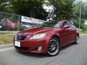 2006 LEXUS IS250 ALL WHEEL ALL LUXURY! PREMIUM PACKAGE!