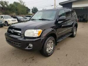 2006 Toyota Sequoia Limited, Backup Camera, DVD, Great Shape