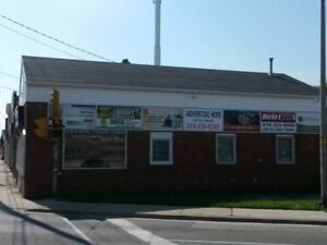 Advertising available on Centrally Located Building in Chatham
