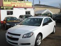 2012 CHEVROLET MALIBU AUTO LOADED 100K-100% APPROVED FINANCING