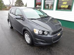 2014 Chevrolet Sonic LT for only $121 bi-weekly all in!