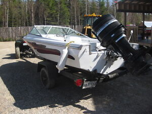 Boat, Motor, Trailer, all good condition,