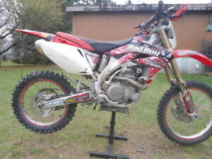 Blue Plated CRF 450X