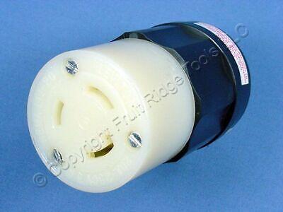 Leviton Locking Connector Twist Lock Female Plug NEMA L11-20R 20A 250V Bulk 2373