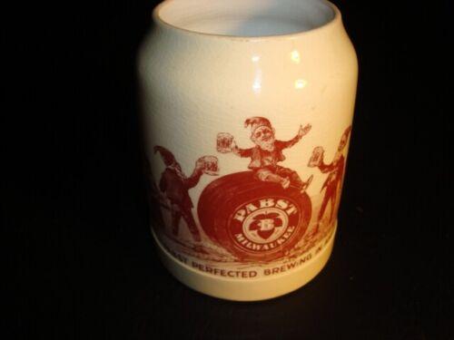 Circa 1910 Pabst Elves Ceramic Mug, Milwaukee, Wisconsin