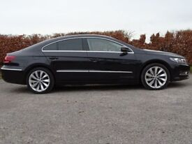 VOLKSWAGEN CC 2.0 GT TDI BLUEMOTION TECHNOLOGY DSG 4d AUTOMATIC (black) 2014