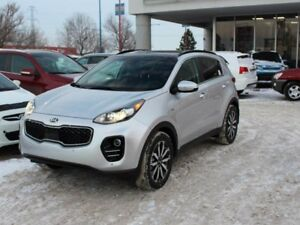 2018 Kia Sportage EX TECH, NAVI, PANORAMIC SUNROOF, COOLED/HEATE