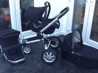 Quinny buzz black travel system