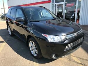 2014 Mitsubishi Outlander GT | Leather | AWD | Bluetooth