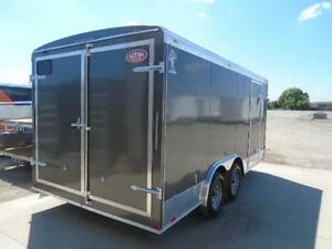2017 ATLAS CONTRACTORS 8X16 TRAILER - OUR PRICE WONT BE BEAT! London Ontario image 2