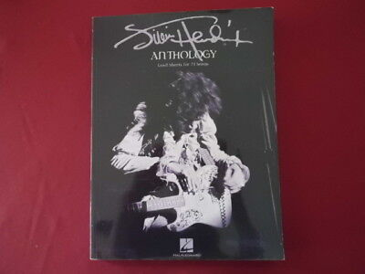 Jimi Hendrix - Anthology . Songbook Notenbuch Vocal Guitar