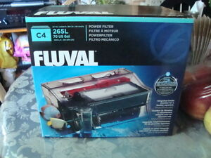 NEW IN BOX FLUVAL C4 FILTERS
