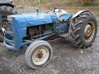 1962 Ford Super Dexta Tractor