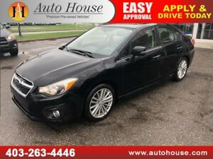 2014 SUBARU IMPREZA LIMITED AWD LEATHER NAVI B CAM LOW LOW KM