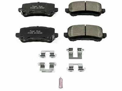 For 2014-2017 Acura RLX Disc Brake Pad and Hardware Kit Rear Power Stop 46952FD