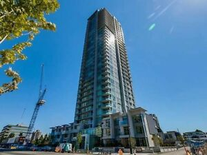 "Burnaby Central ""The MET"" 2Br+2bath 25F unit for Rent! 12/1"