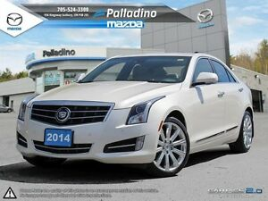 2014 Cadillac ATS Premium AWD-DRIVE AROUND IN LUXURY!