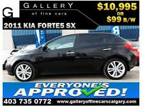 2010 Kia Forte5 SX $99 bi-weekly APPLY TODAY DRIVE TODAY