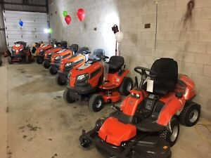 Zero Turns, Plate Tampers, Chainsaws, Push-mowers, Parts & More