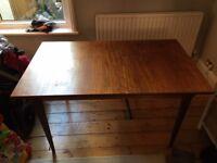 Antique teak (extending) table