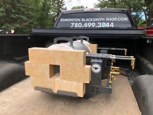 Propane Forge by Edmonton Blacksmith Shop