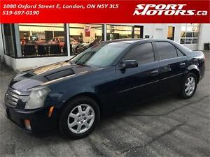 2005 Cadillac CTS! Leather! Sunroof! Heated Seats! A/C! Tinted!