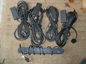 DJ Equipment Accessories - Extension cables and Kettle Mains Leads