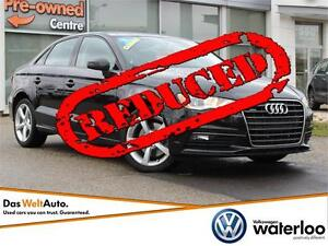 2015 Audi A3 2.0T Komfort quattro - LOWEST PRICE IN THE PROVINCE Kitchener / Waterloo Kitchener Area image 1
